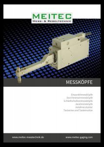 product sheet measurement controls