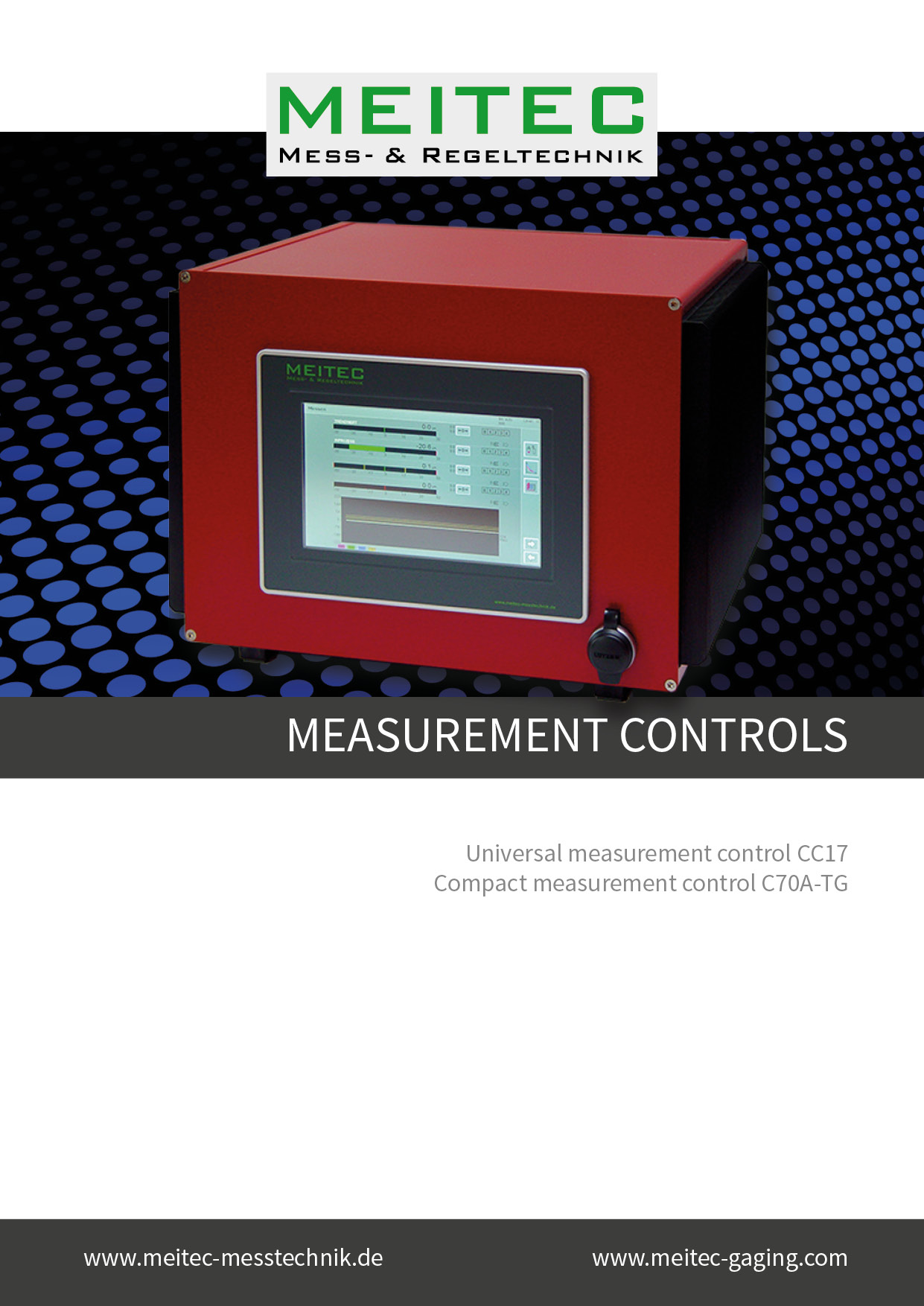 product sheet measurement controls